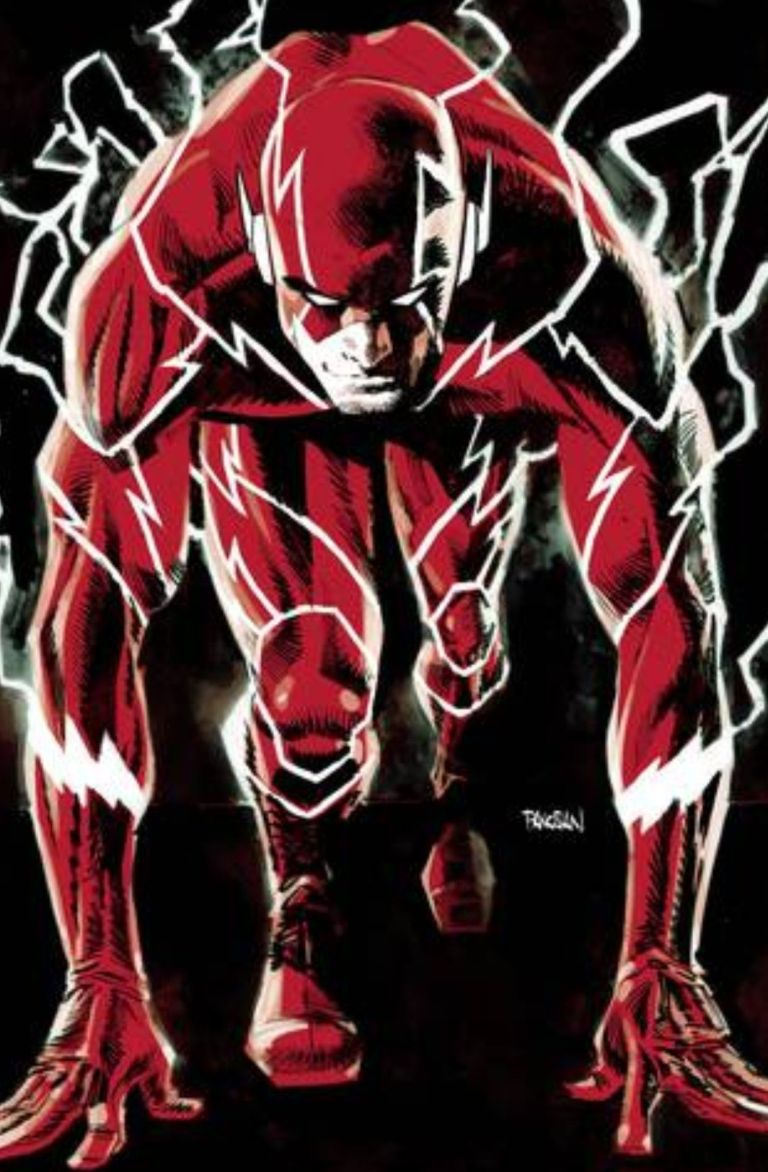 flash #56 (cover a dan panosian)
