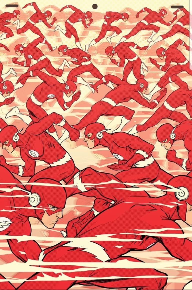 flash #58 (cover b karl kerschl)