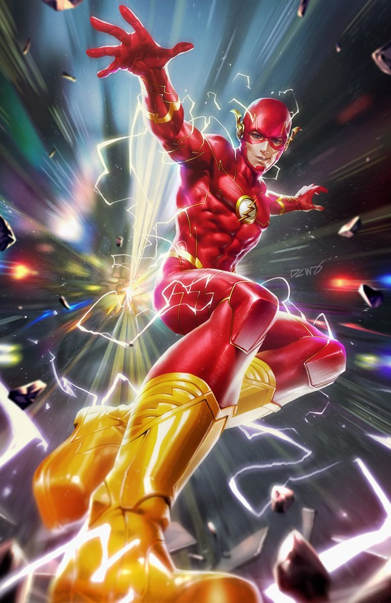 flash #60 (cover b derrick chew)
