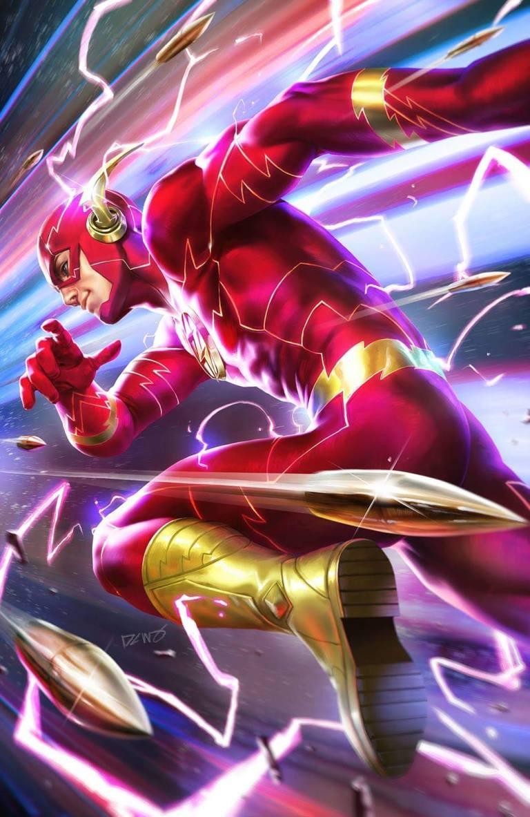 flash #61 (cover b derrick chew)