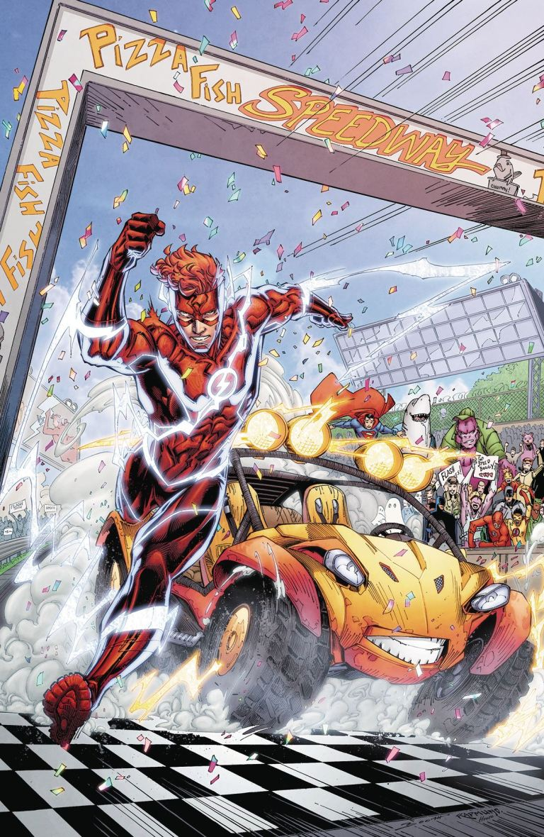 flash speed buggy special #1 (cover a brett booth & norm rapmund)