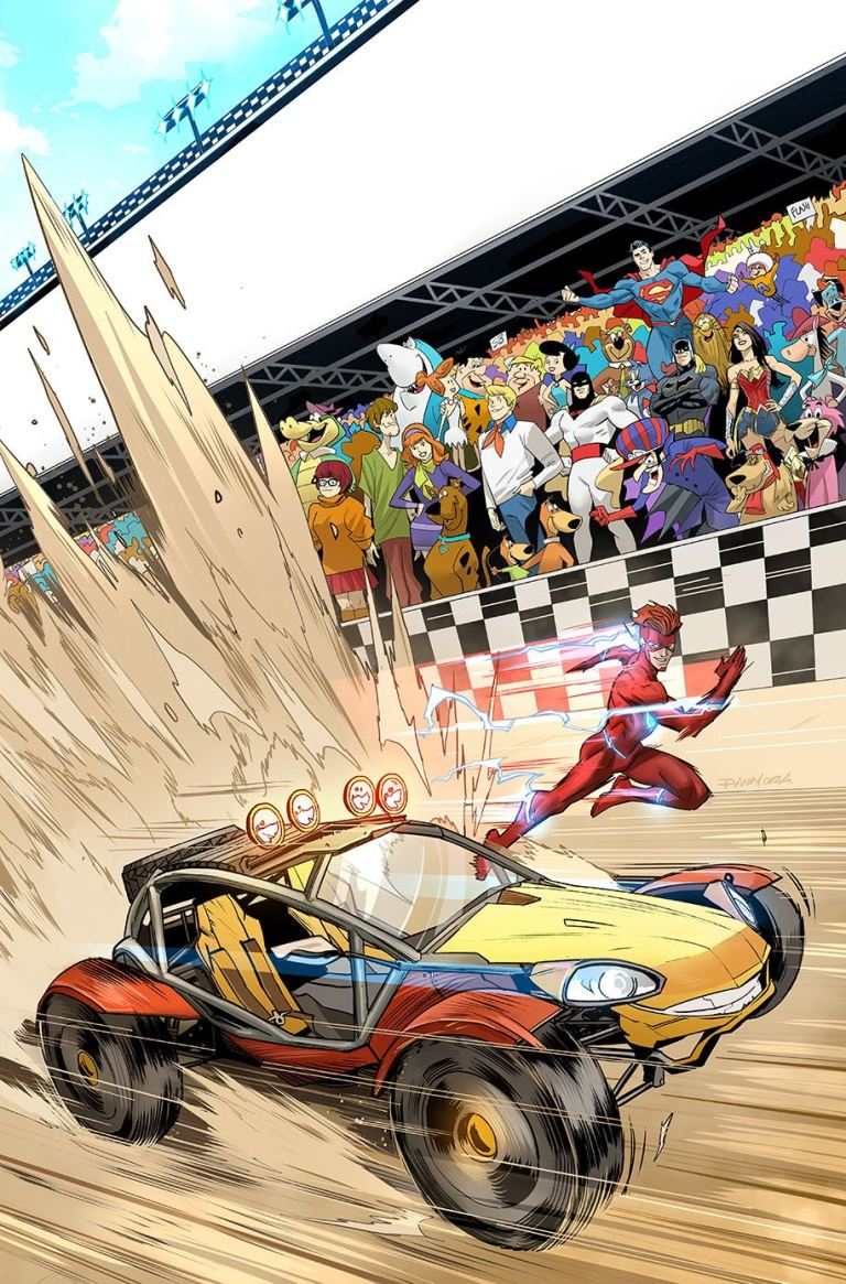 flash speed buggy special #1 (cover b ivan reis)