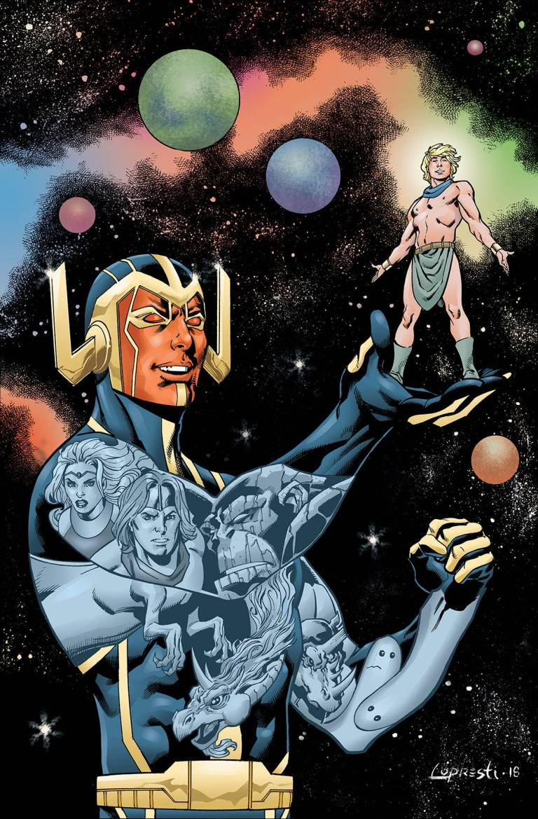 future quest presents #11 (cover a aaron lopresti)
