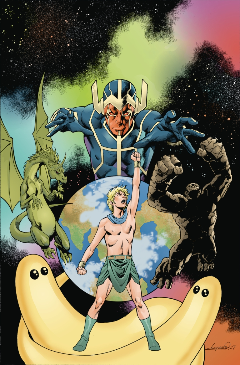 future quest presents #9 (cover a aaron lopresti)
