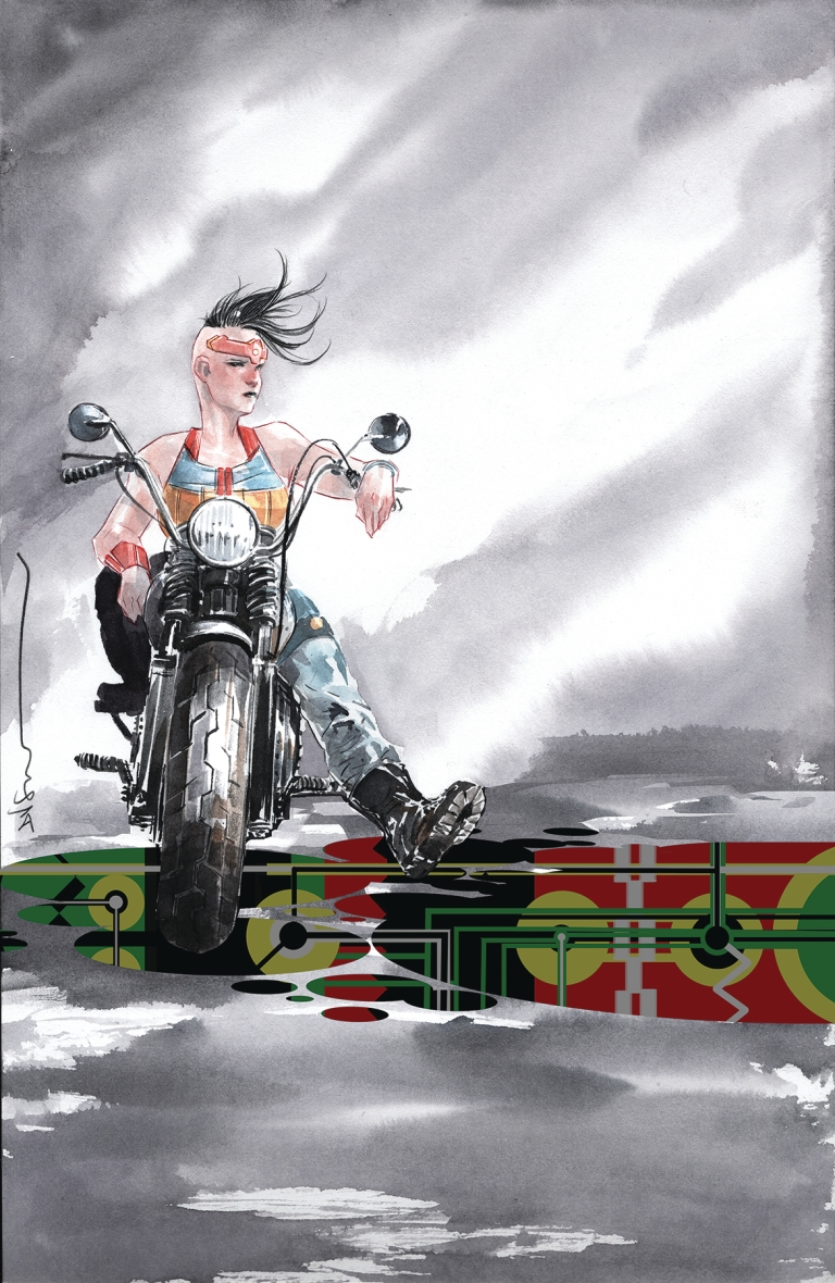 gotham city garage #9 (dustin nguyen cover)