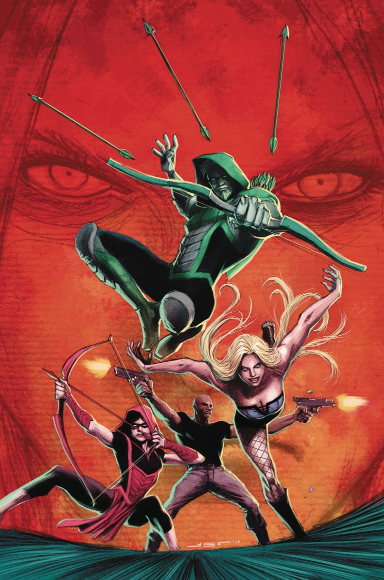 green arrow #38 (cover a juan ferreyra)