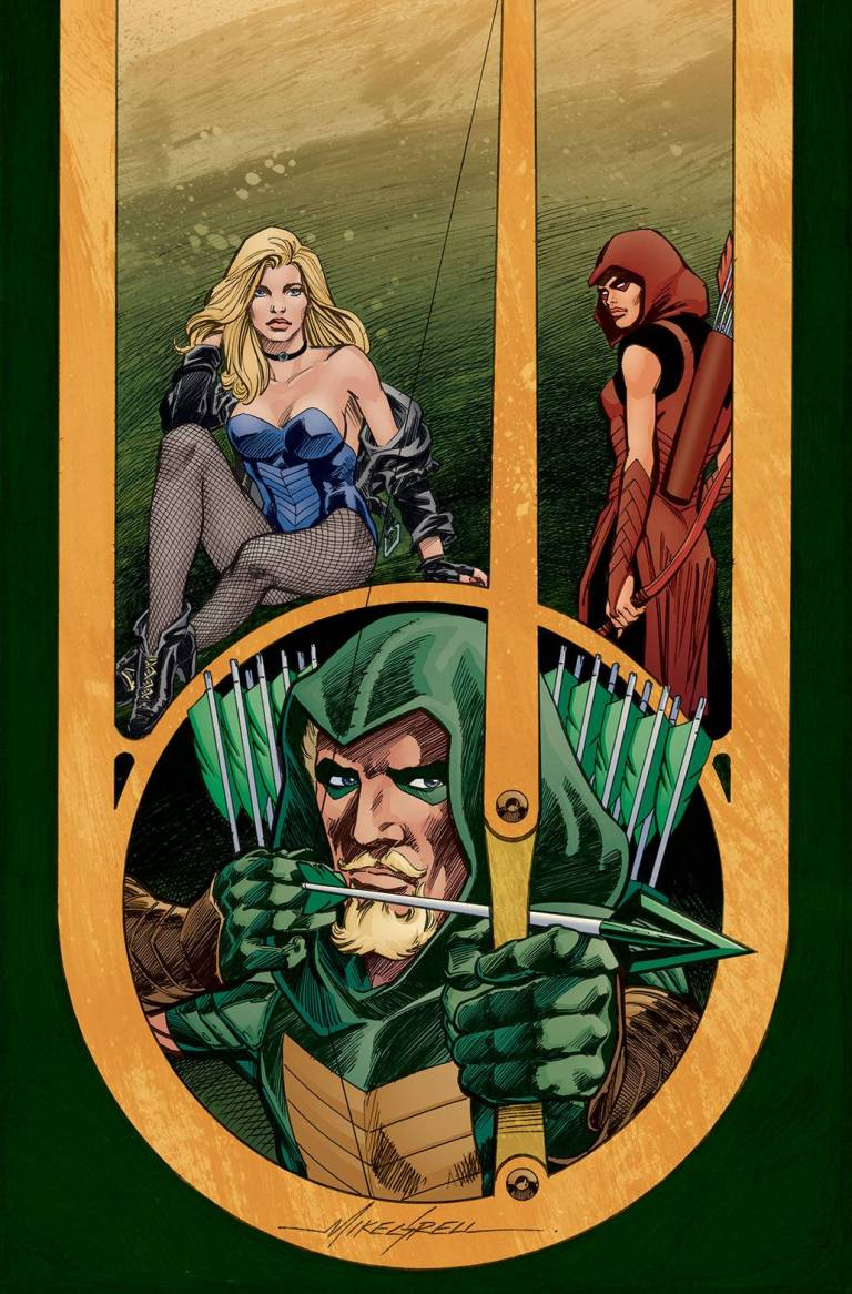 green arrow #38 (cover b mike grell)
