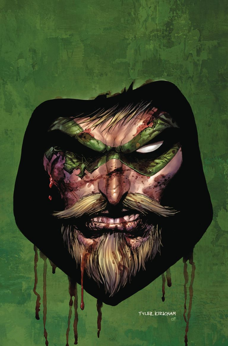 green arrow #40 (cover a tyler kirkham)