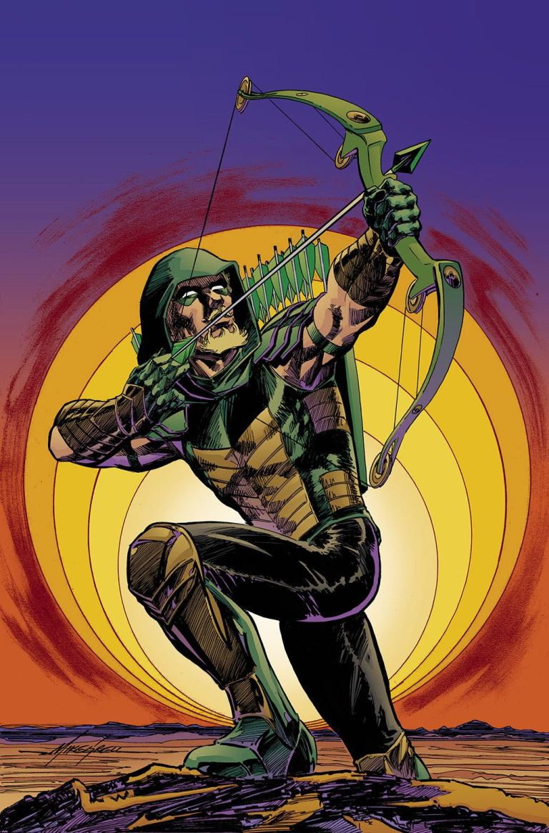 green arrow #40 (cover b mike grell)