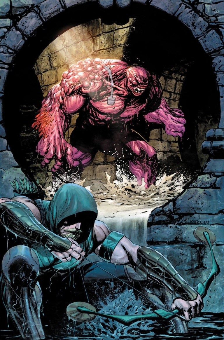 green arrow #42 (cover a tyler kirkham)