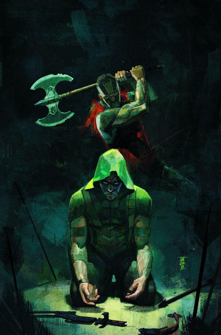 green arrow #43 (cover a alex maleev)