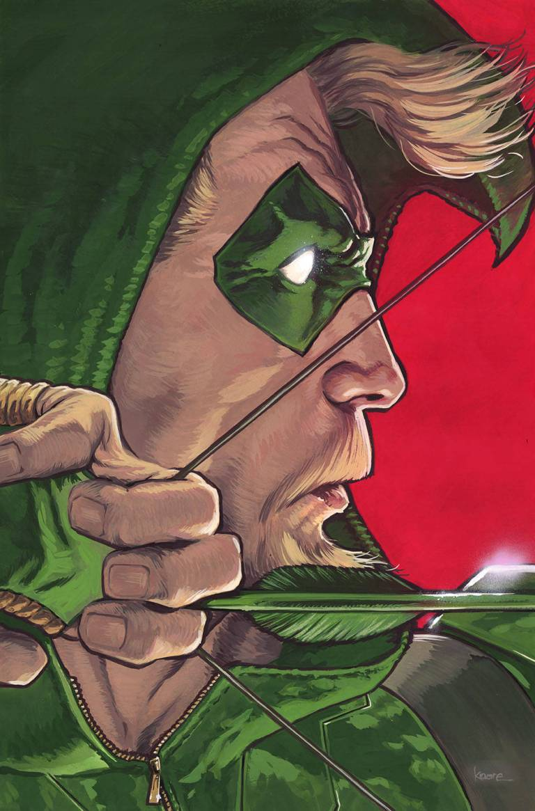 green arrow #43 (cover b kaare andrews)