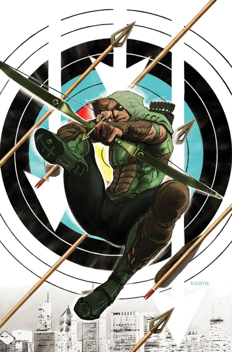 green arrow #44 (cover b kaare andrews)