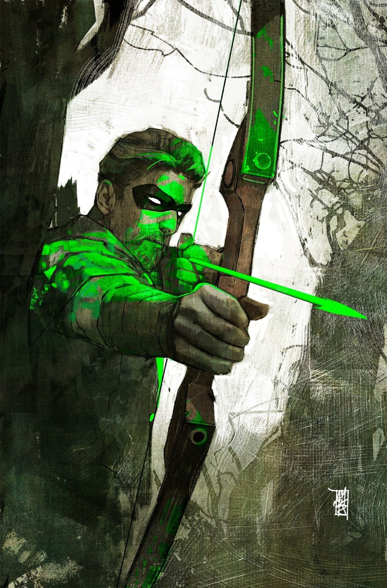 green arrow #45 (cover a alex maleev)