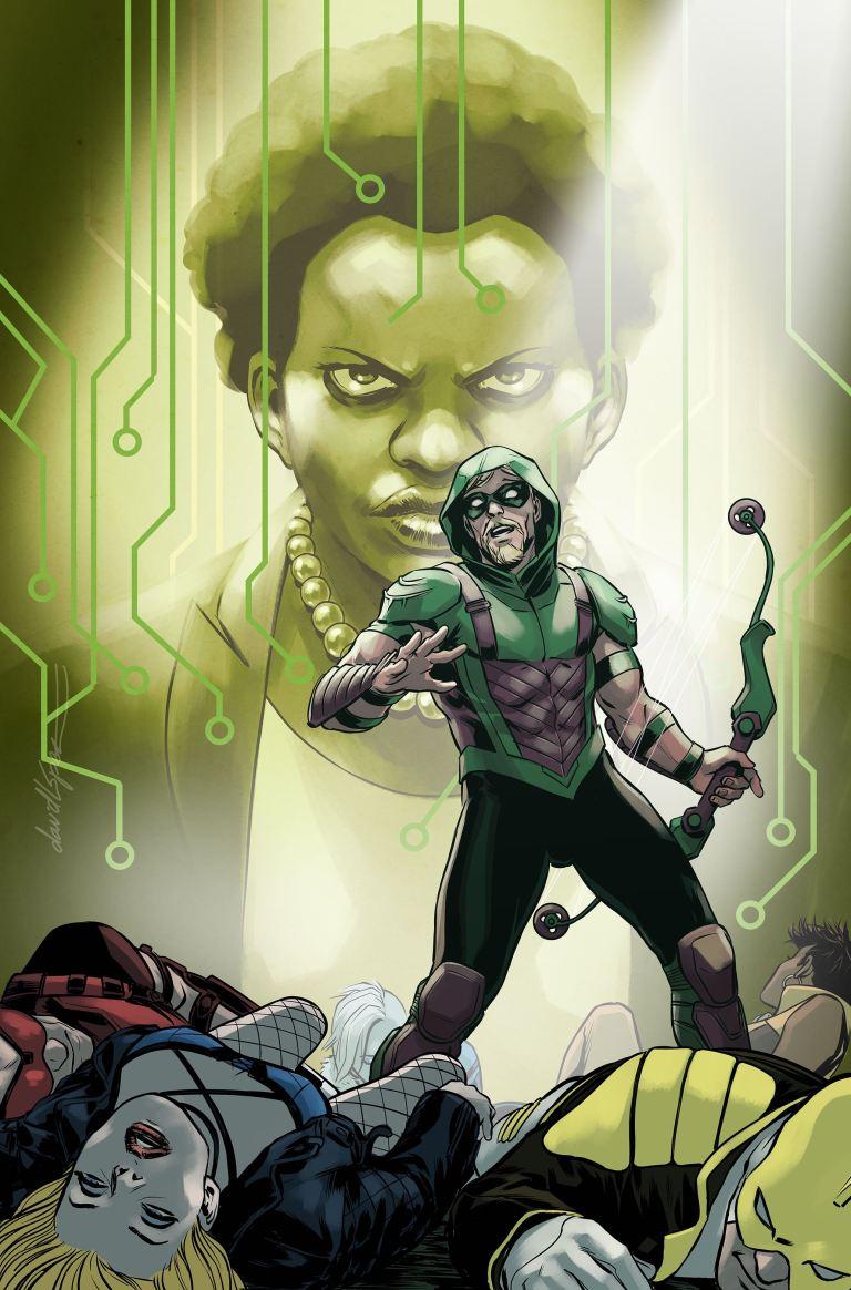 green arrow annual #2 (david lopez cover)