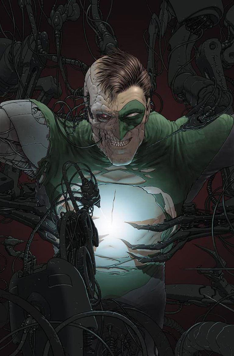 green lantern #1 (cover b frank quitely)