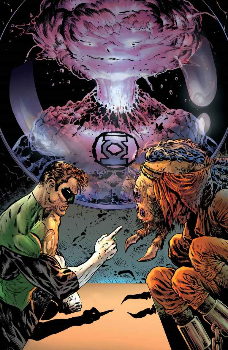 green lantern #2 (cover a liam sharp)