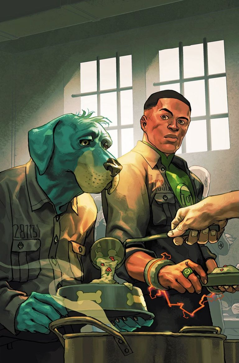 green lantern huckleberry hound special #1 (cover b yasmine putri)
