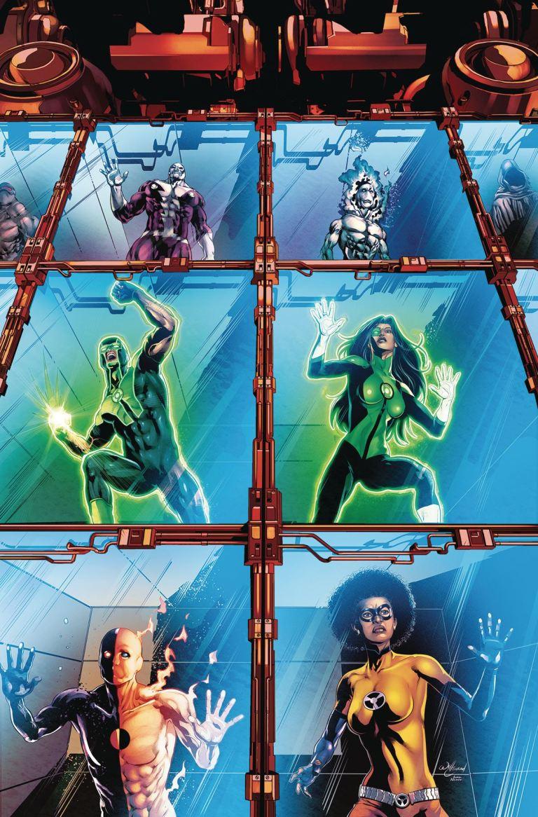 green lanterns #40 (cover a will conrad)