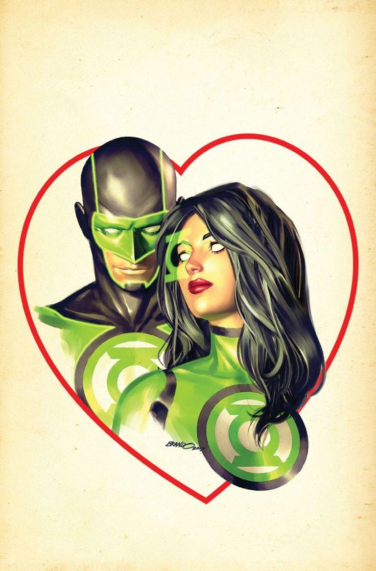 green lanterns #40 (cover b brandon peterson)