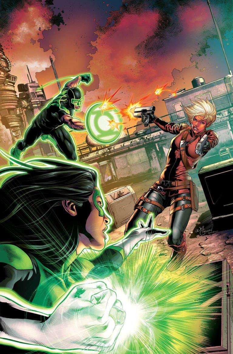 green lanterns #41 (cover a will conrad)