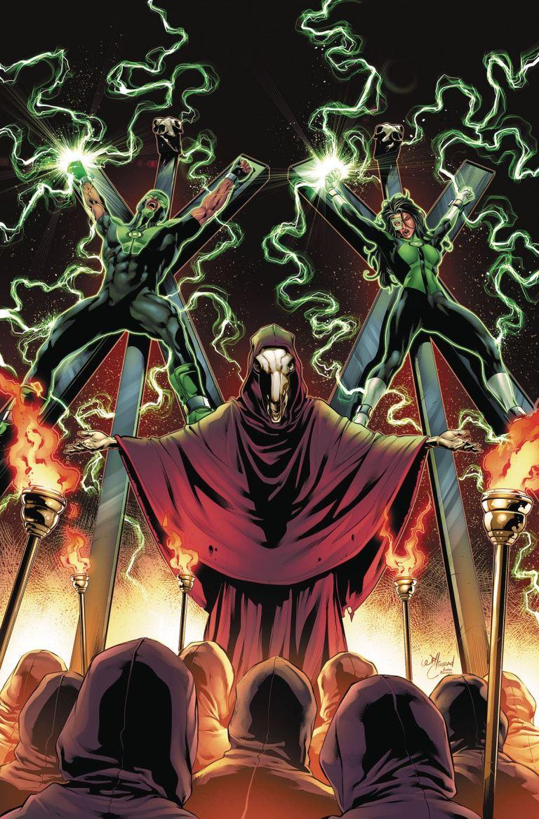 green lanterns #42 (cover a will conrad)