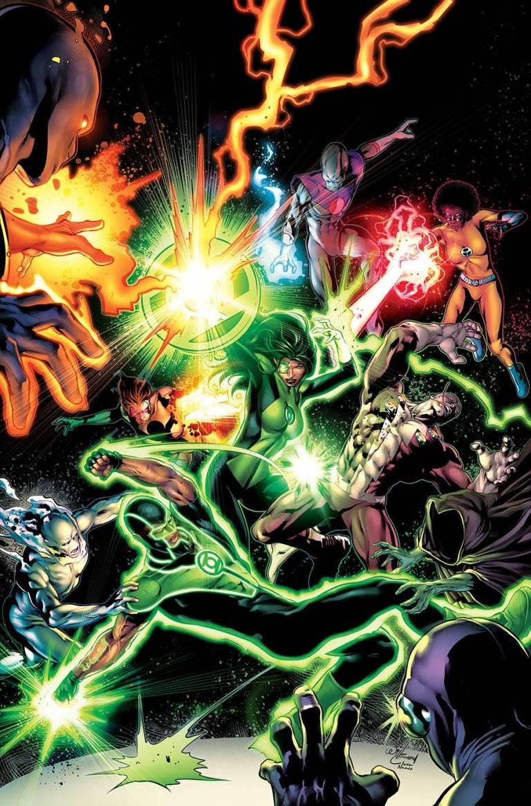 green lanterns #43 (cover a will conrad)