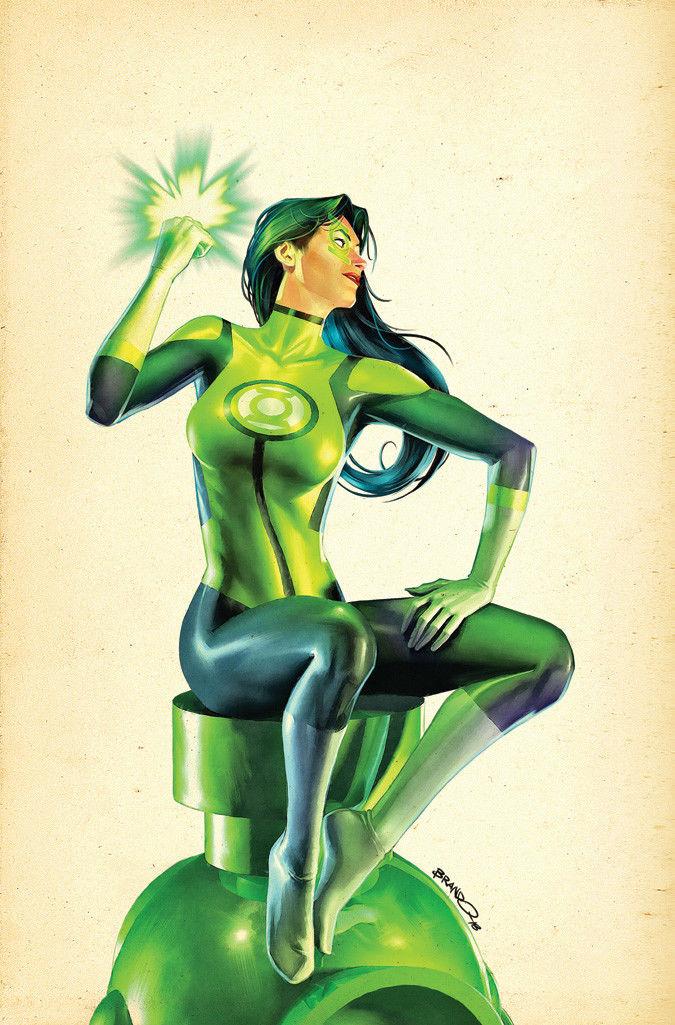 green lanterns #43 (cover b brandon peterson)