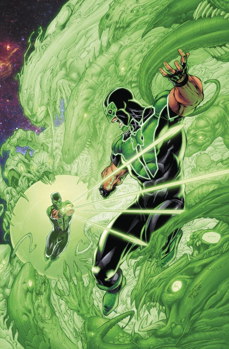 green lanterns #46 (cover a brett booth & norm rapmund)