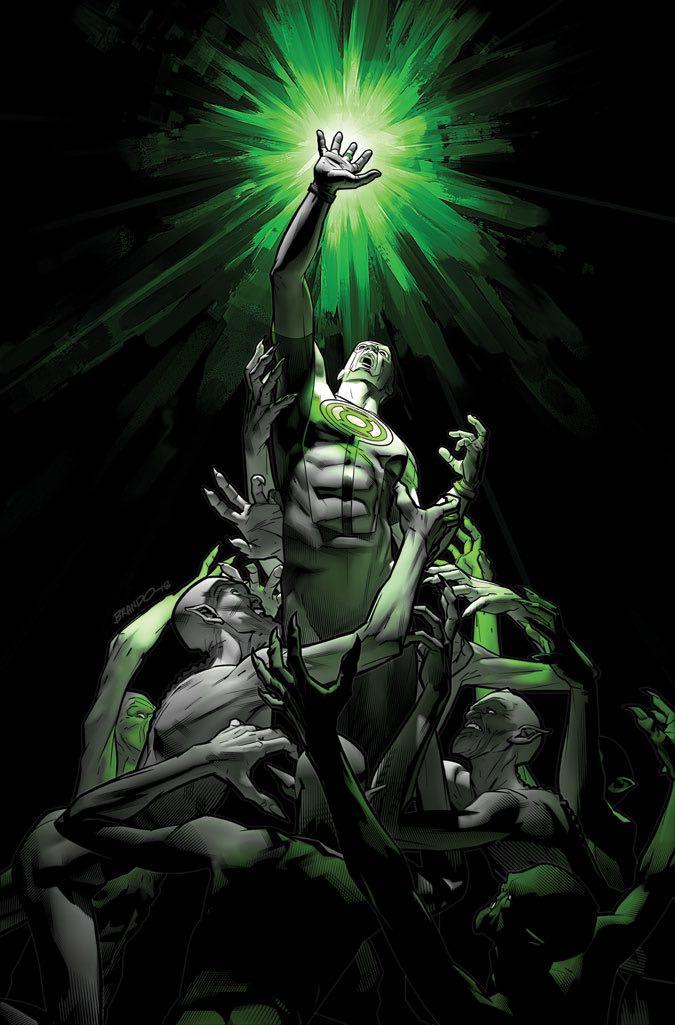 green lanterns #46 (cover b brandon peterson)