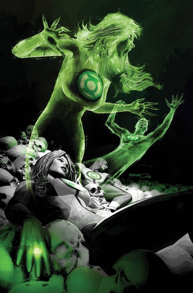green lanterns #47 (cover b brandon peterson)