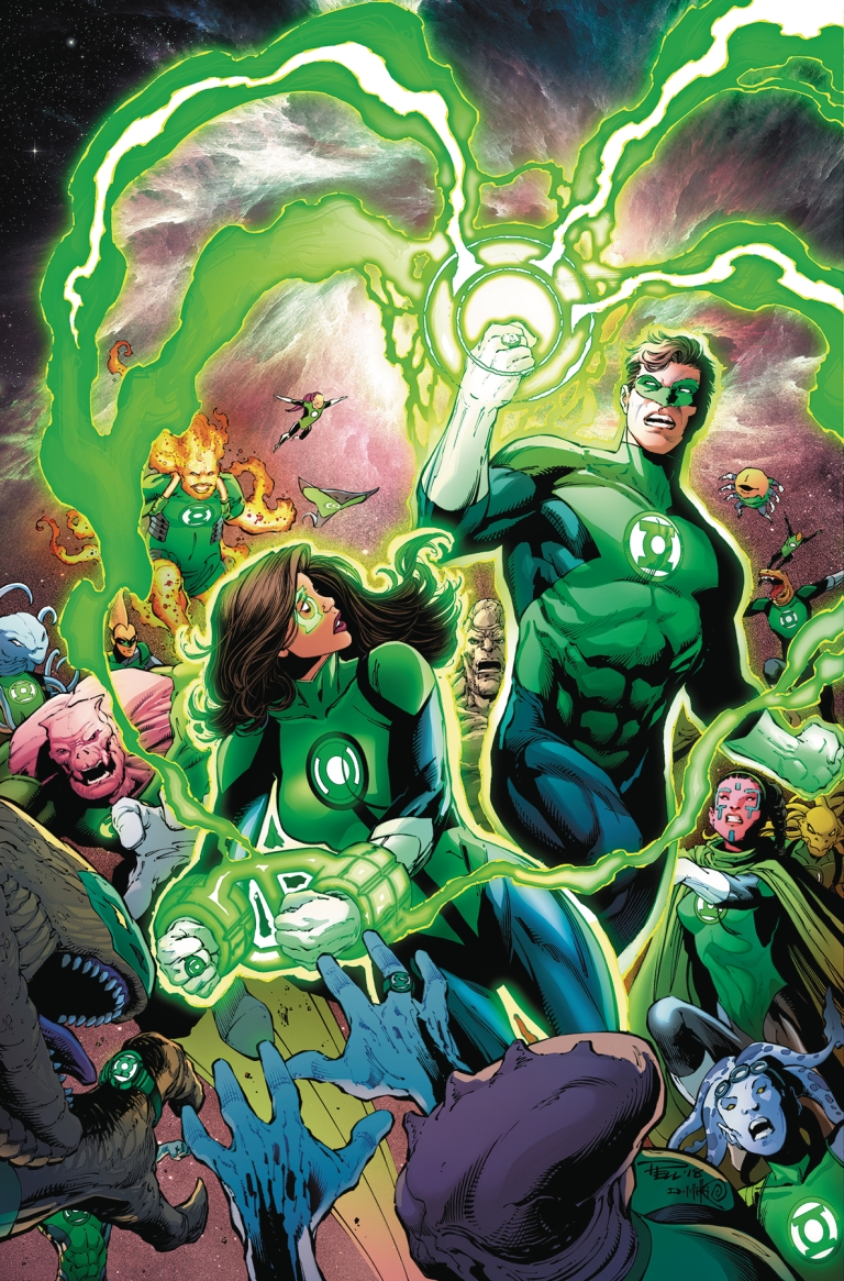 green lanterns #48 (cover a paul pelletier & danny miki)