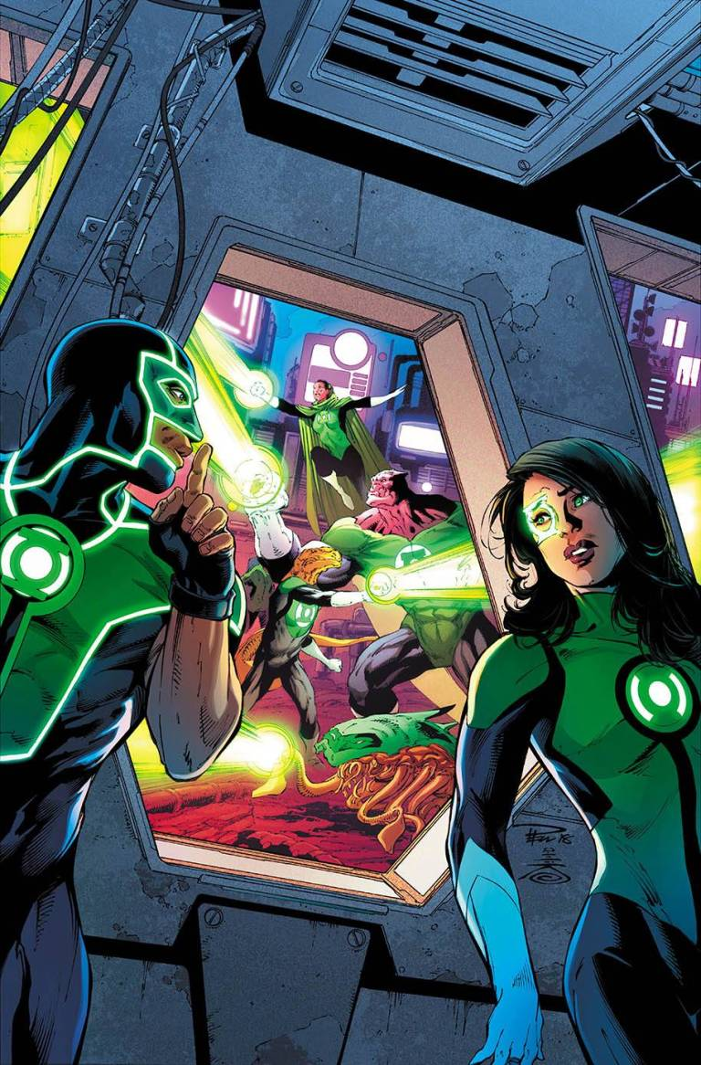 green lanterns #49 (cover a paul pelletier & danny miki)