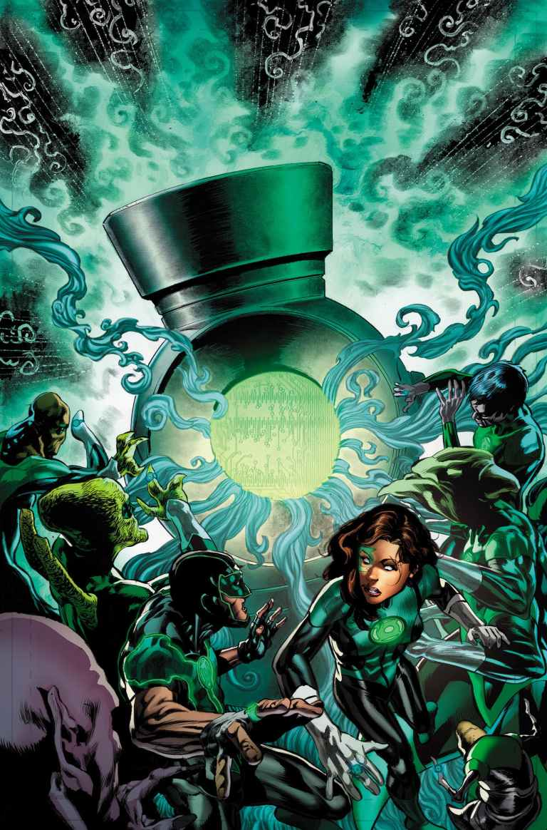 green lanterns #50 (cover a mike perkins)