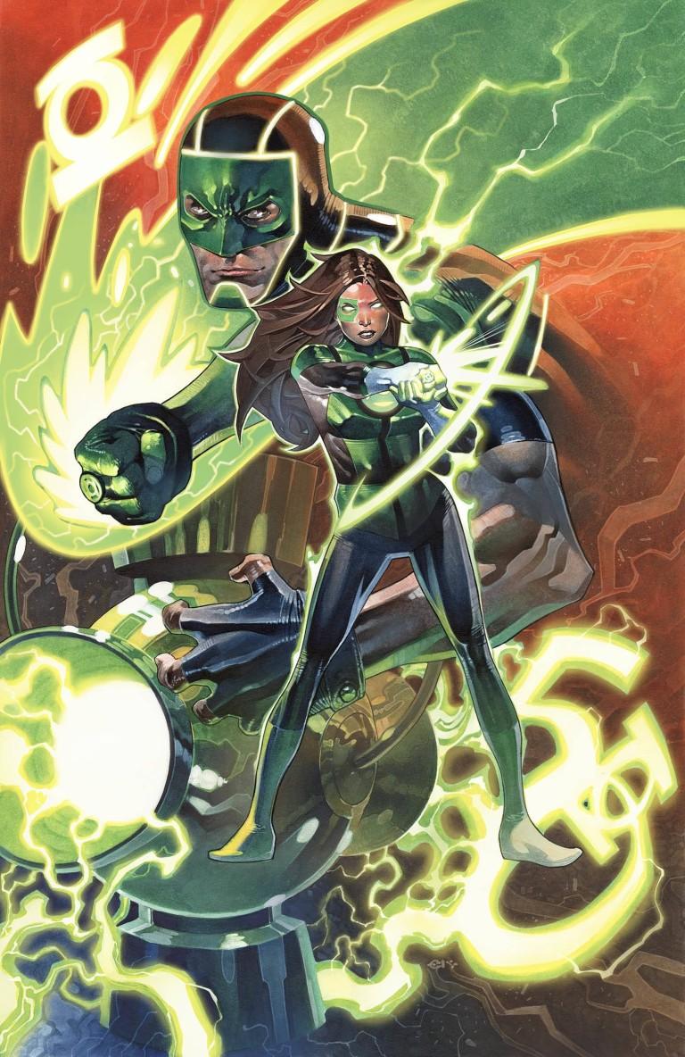 green lanterns #50 (cover b chris stevens)
