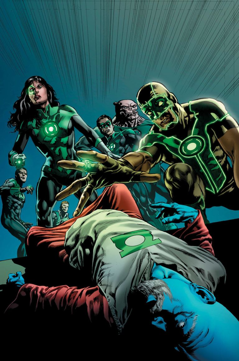 green lanterns #51 (cover a mike perkins)