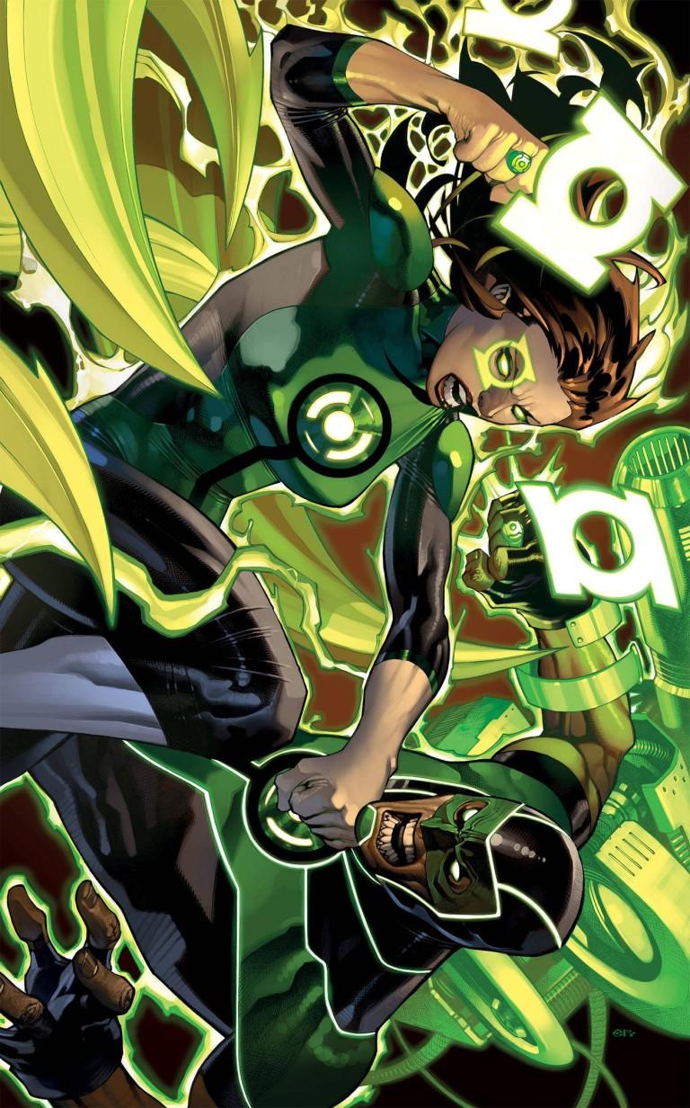 green lanterns #51 (cover b chris stevens)