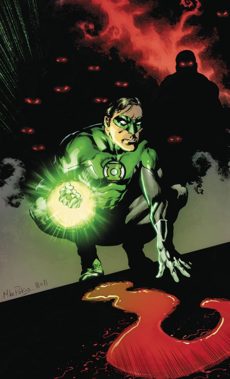 green lanterns #52 (cover a mike perkins)