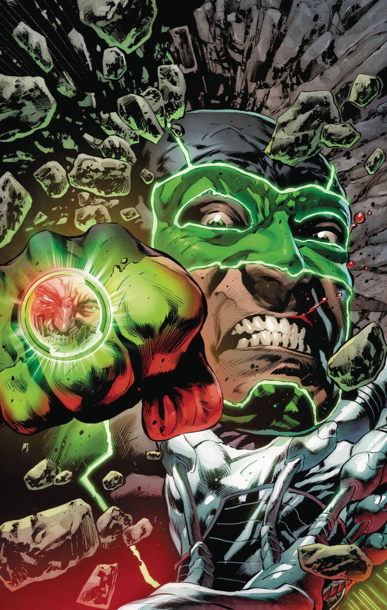 green lanterns #54 (cover a mike perkins)