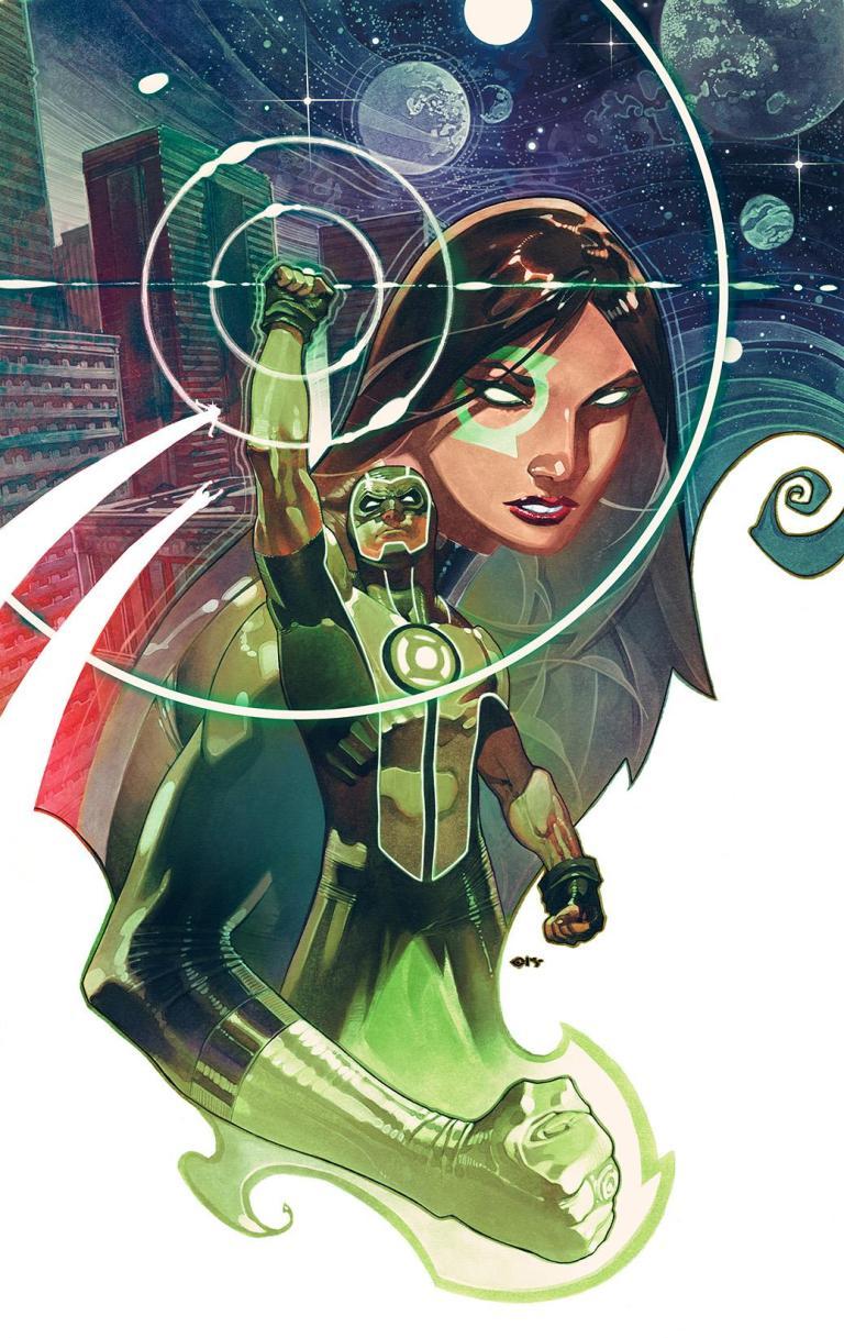 green lanterns #54 (cover b chris stevens)