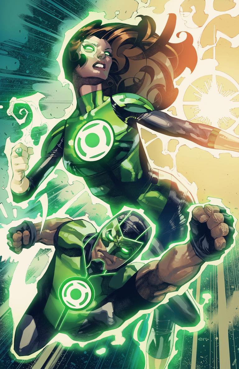 green lanterns #55 (cover b chris stevens)
