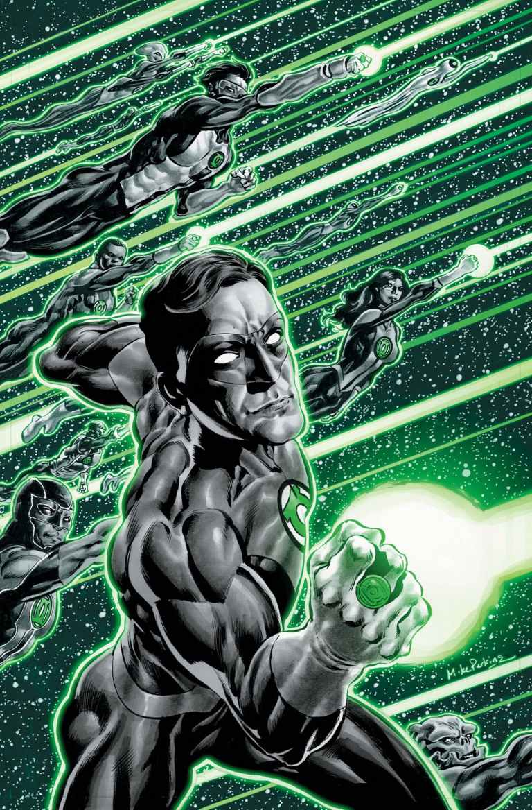 green lanterns #56 (cover a mike perkins)