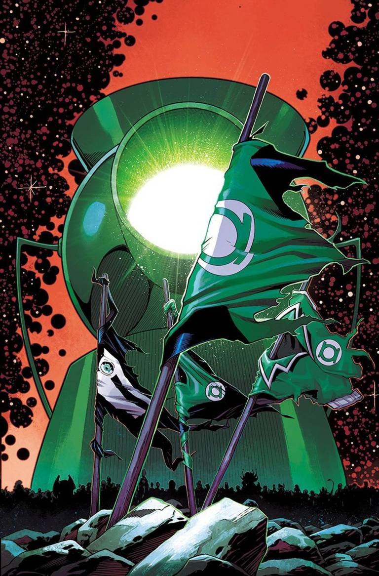 hal jordan and the green lantern corps #37 (cover b barry kitson)