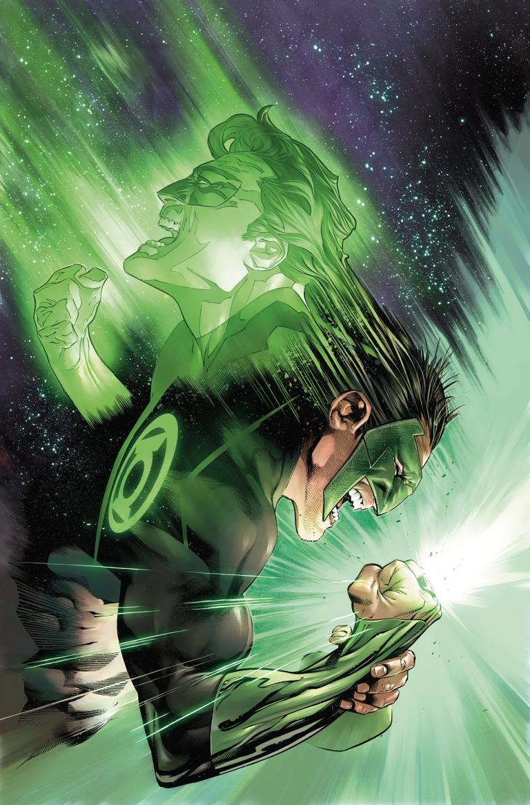 hal jordan and the green lantern corps #40 (cover a rafael sandoval & jordi tarragona)