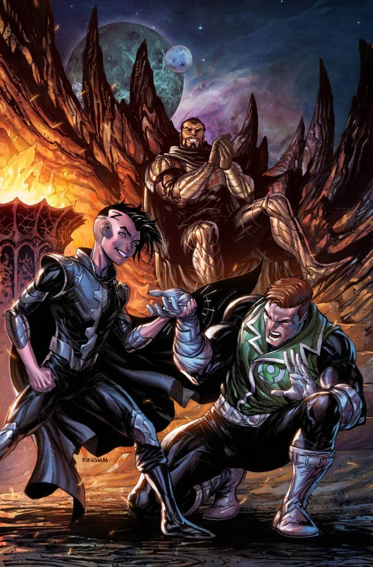 hal jordan and the green lantern corps #40 (cover b tyler kirkham)