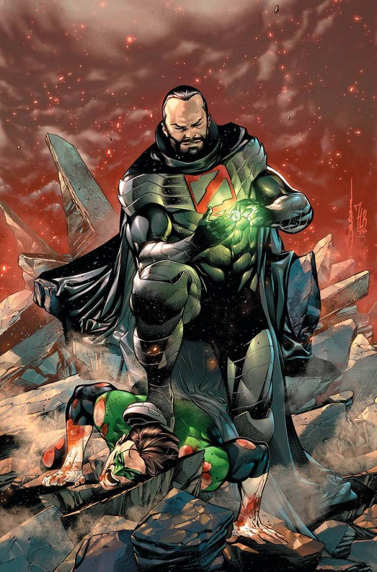 hal jordan and the green lantern corps #41 (cover a rafael sandoval & jordi tarragona)