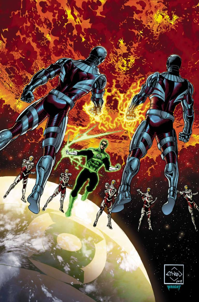 hal jordan and the green lantern corps #43 (cover a ethan van sciver)