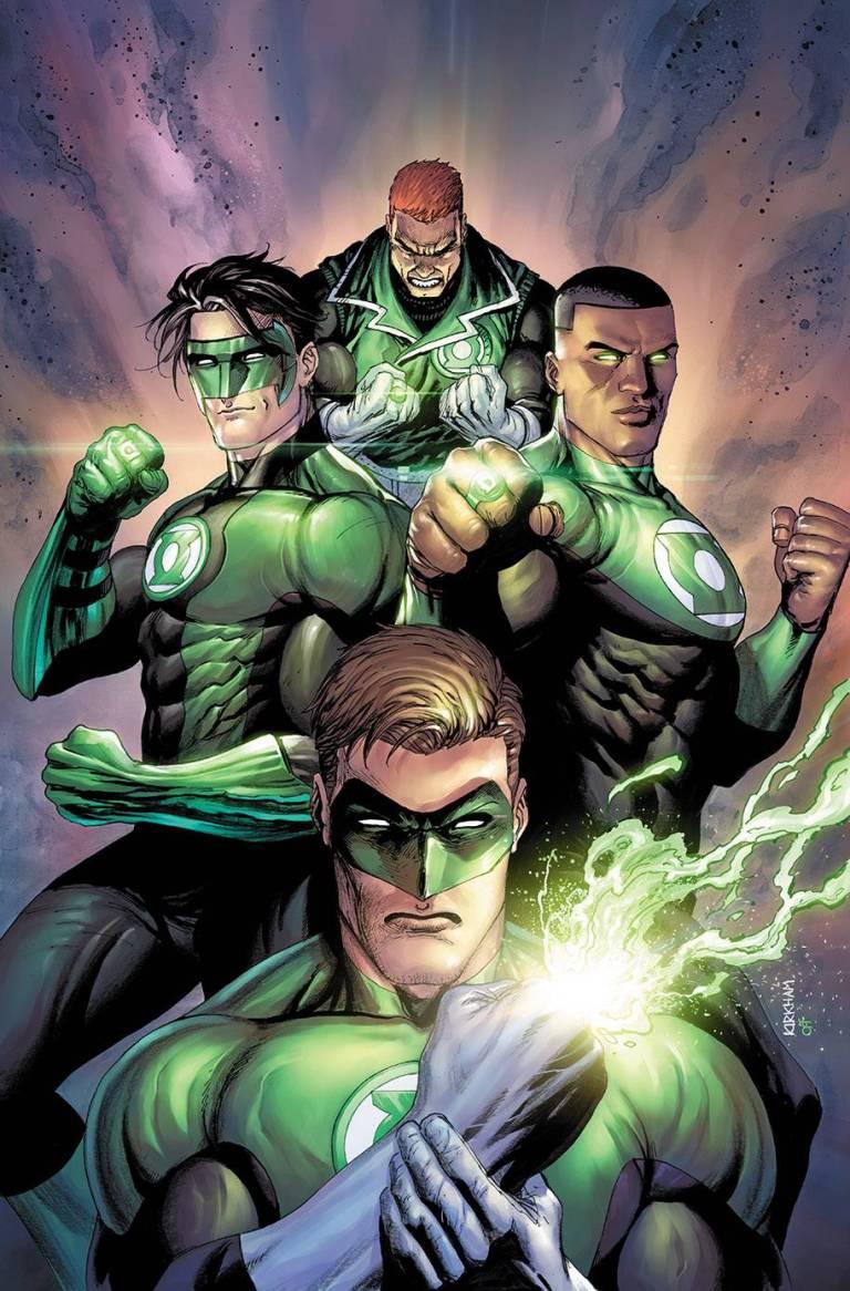hal jordan and the green lantern corps #43 (cover b terry kirkham)