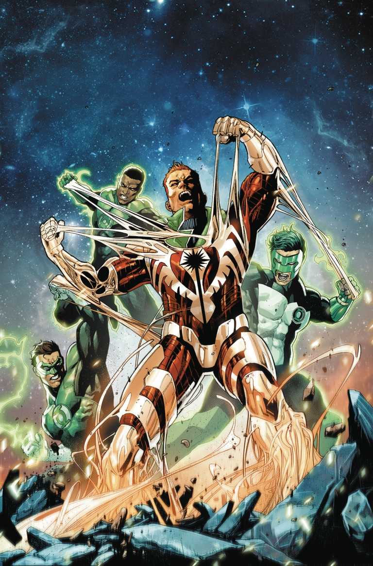 hal jordan and the green lantern corps #46 (cover a stephen segovia)