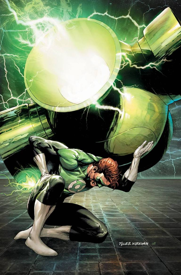 hal jordan and the green lantern corps #47 (cover b tyler kirkham)